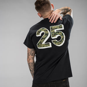 Jungle Mania 25 Black T-Shirt