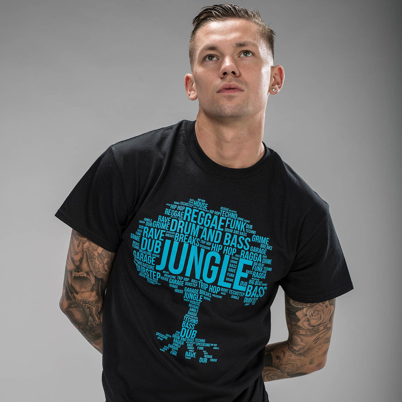 Black Jungle Roots T-Shirt