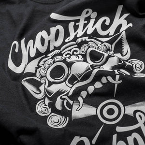 Black Chopstick Dubplate Classic T-Shirt
