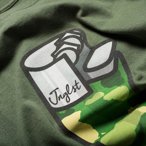 Jnglst Lighter Military Green T-Shirt