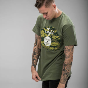 London Vinyl Military Green T-Shirt