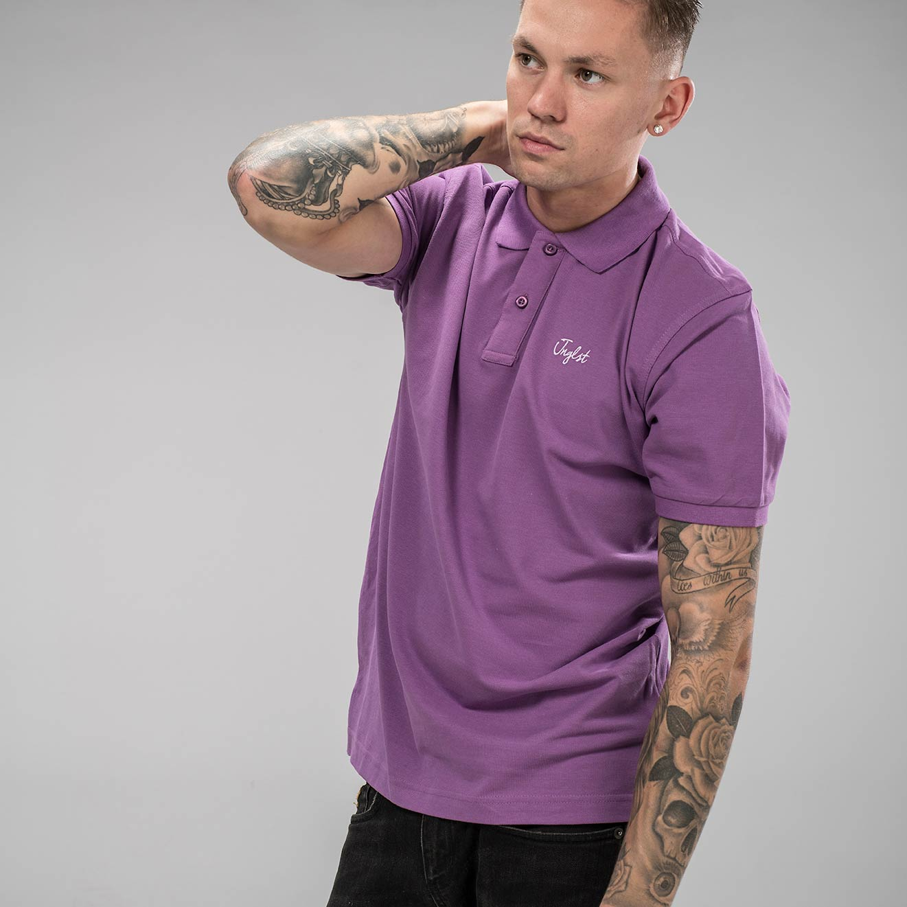 Polo Shirt by Jnglst Clothing