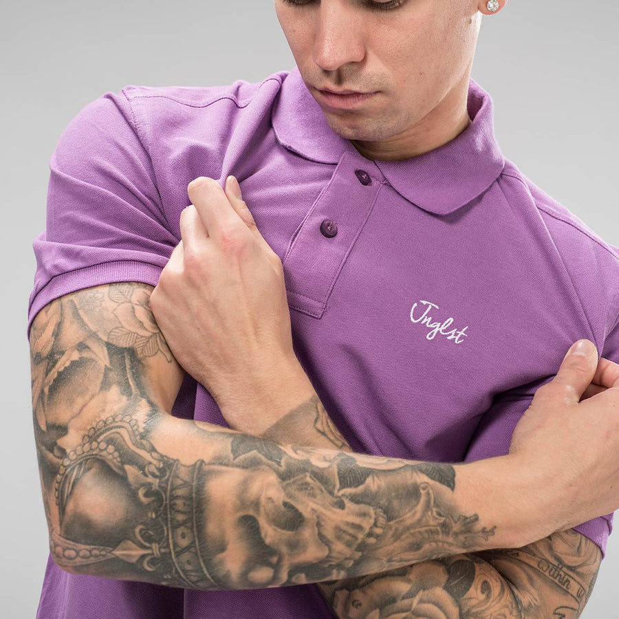 Orchid Junglist Polo Shirt
