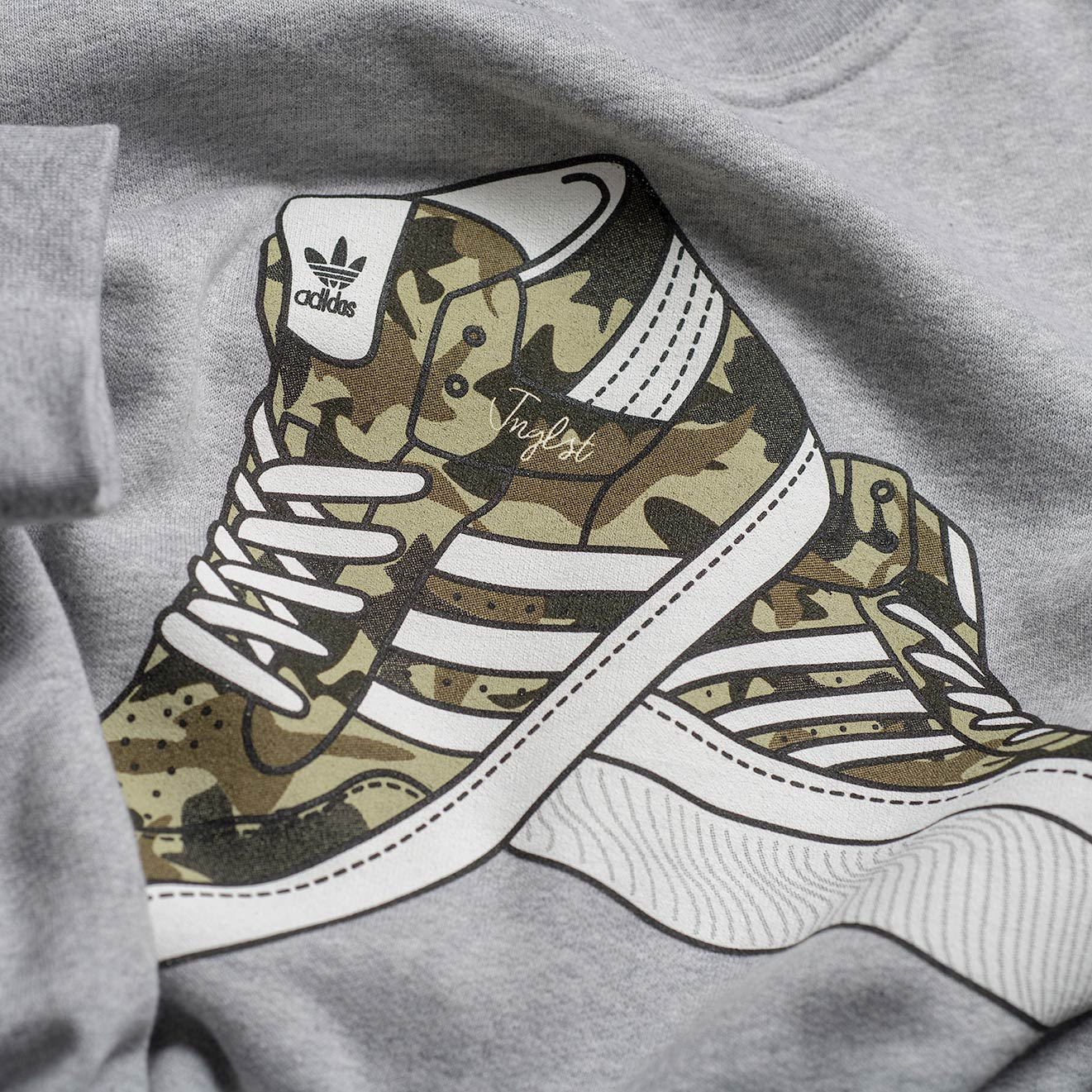 Camo Trainers for Junglists