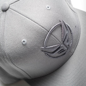 Grey Snapback From Dread Recordings
