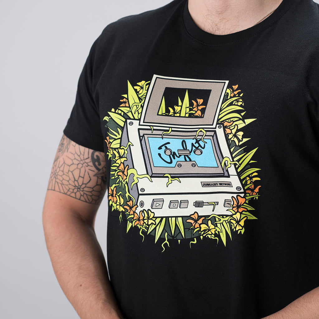 Junglist Walkman t-shirt by Jnglst Clothing