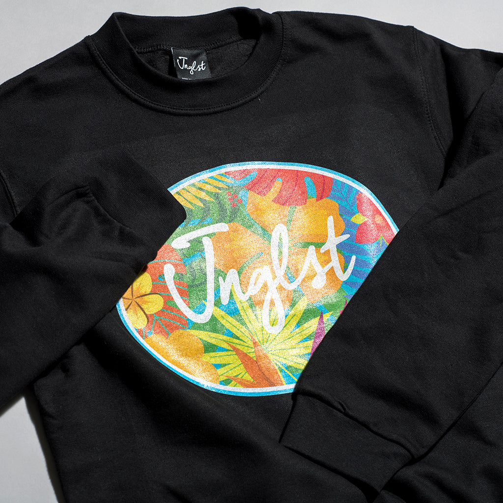 Hawaiian Flowers Junglist Sweatshirt
