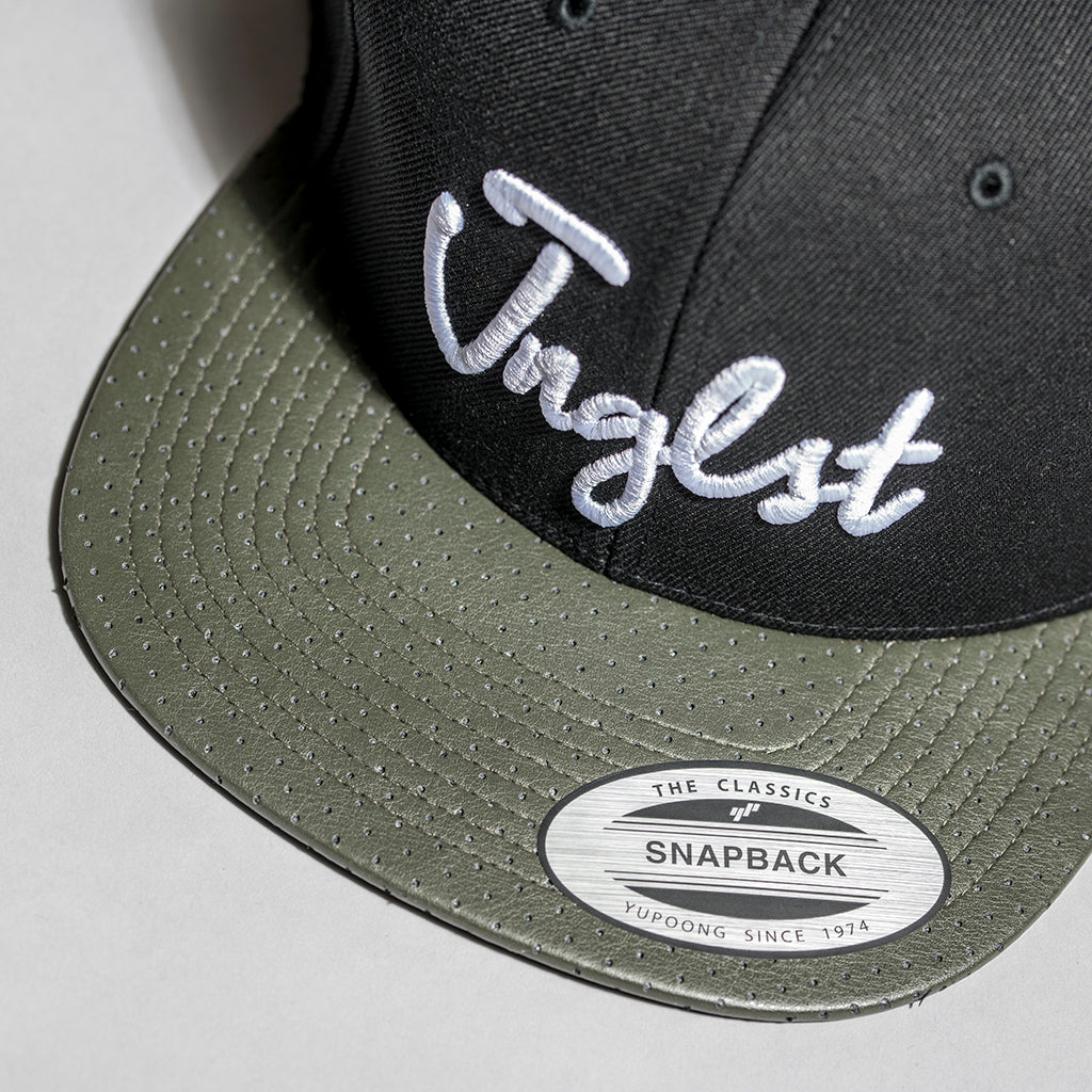 Junglist Snapback with Camo Perforated Visor