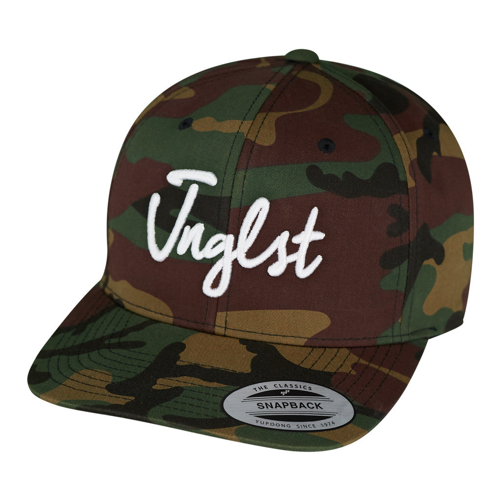Camo Snapback from Junglist Clothing