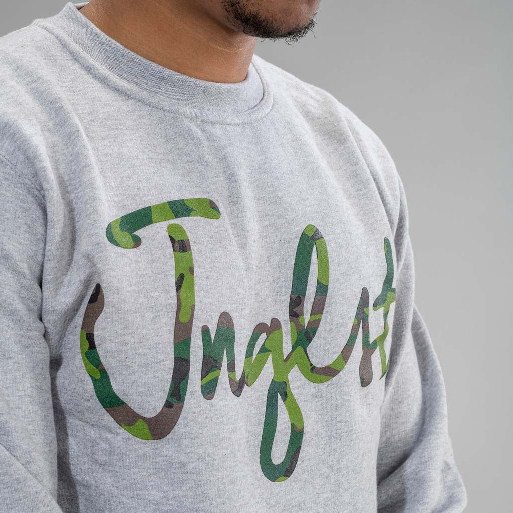 Jnglst Camo Sweatshirt in Grey