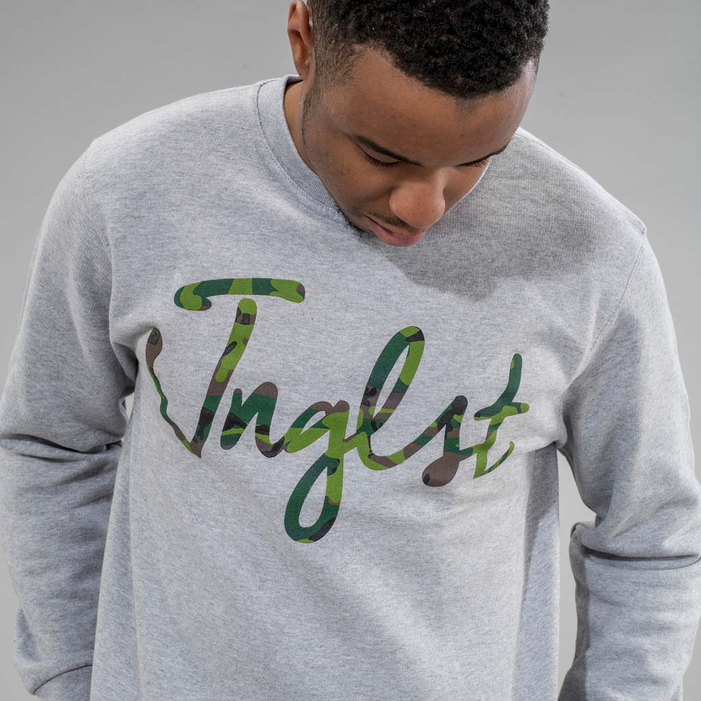 Junglist Clothing Grey Sweatshirt