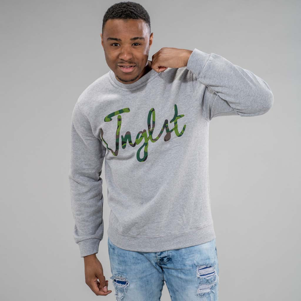 Jnglst Clothing Grey Junglist Sweatshirt