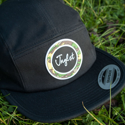 Jockey Cap with Camo Plastic Patch