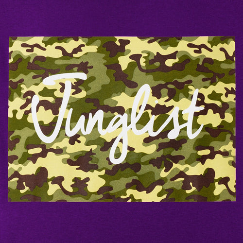 Camo Junglist Close up detail