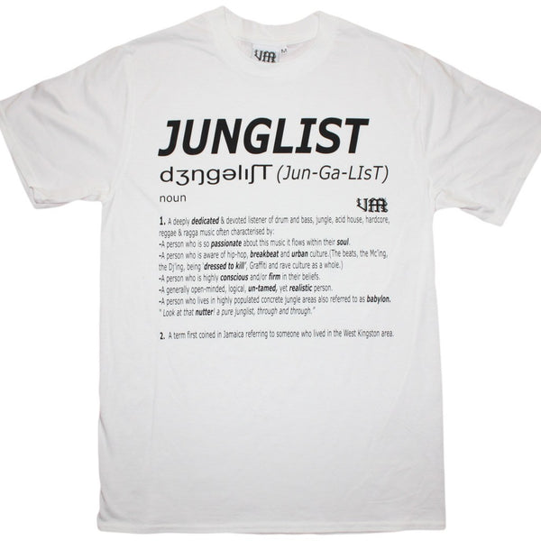 Junglist Definition t-shirt