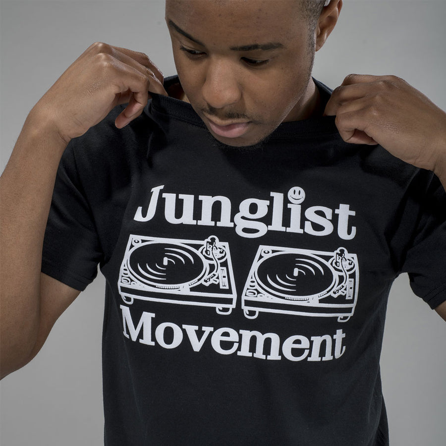 Junglist Movement Black T-Shirt
