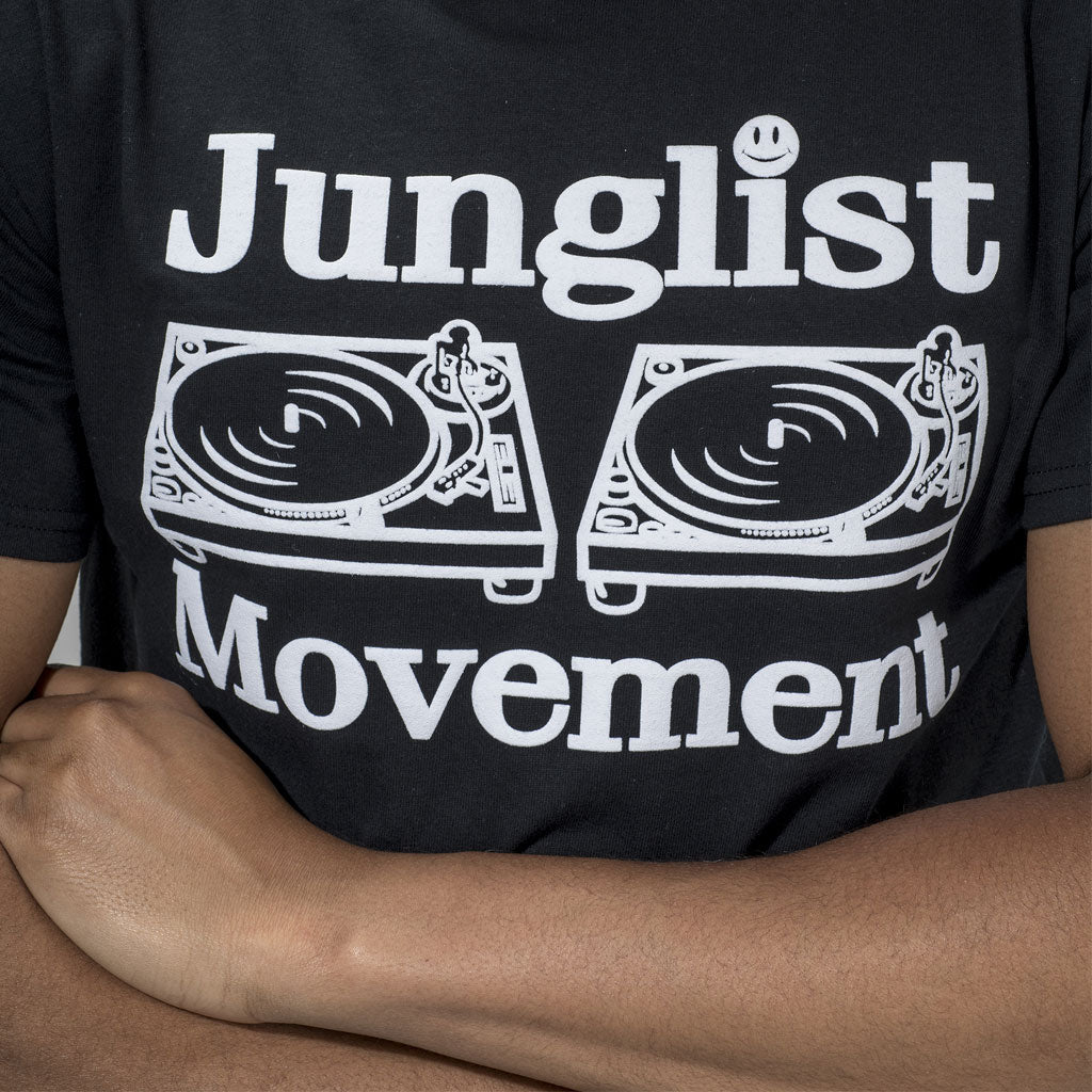 Junglist Movement T-Shirt in Black from Aerosoul