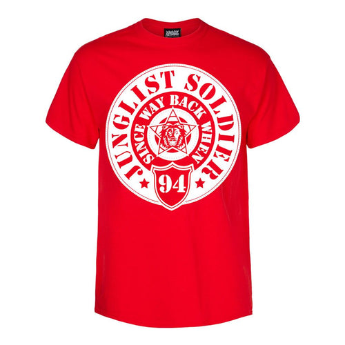 Red Junglist Soldier T-Shirt