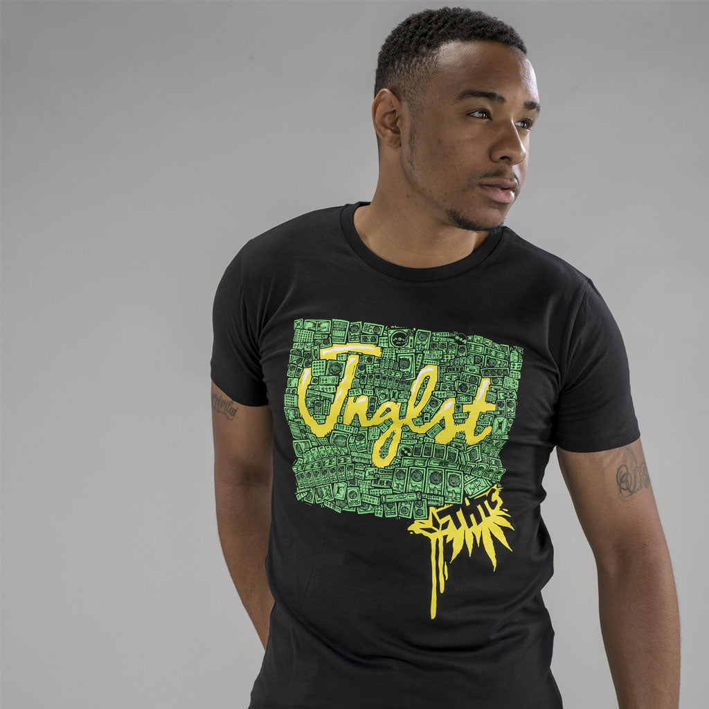 THTC Soundsystem Collab Black Hemp T-Shirt