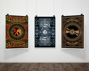 A2 Junglist Network fine art Prints on Gallery Wall