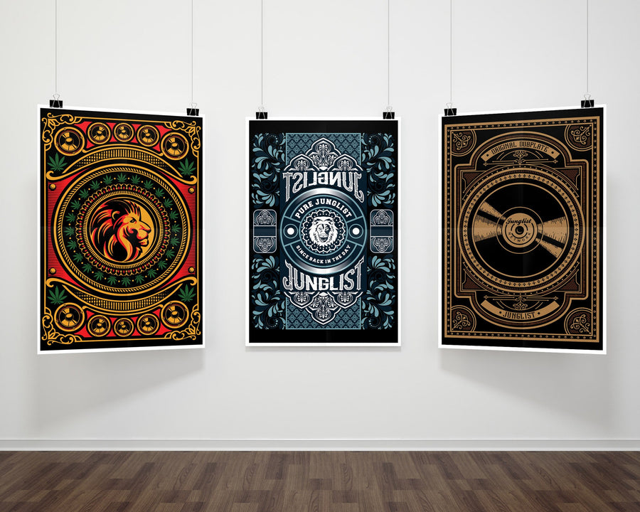 Pure Junglist Fine Art Print for Junglists