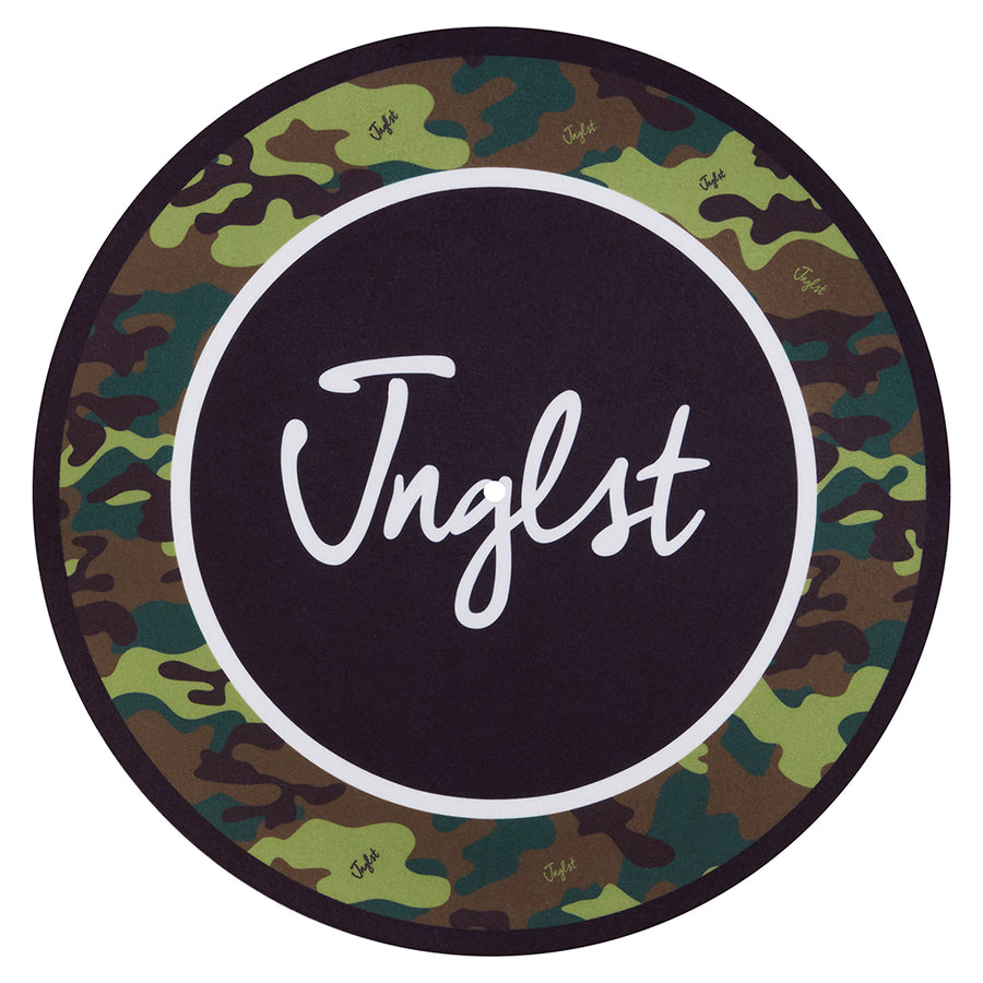 Jnglst Camo Slipmat for DJ's