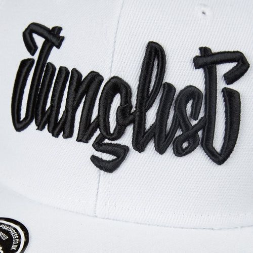 Yardorck Junglist Snapback White and Black