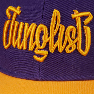 Yardorck Junglist Snapback Purple and Yellow