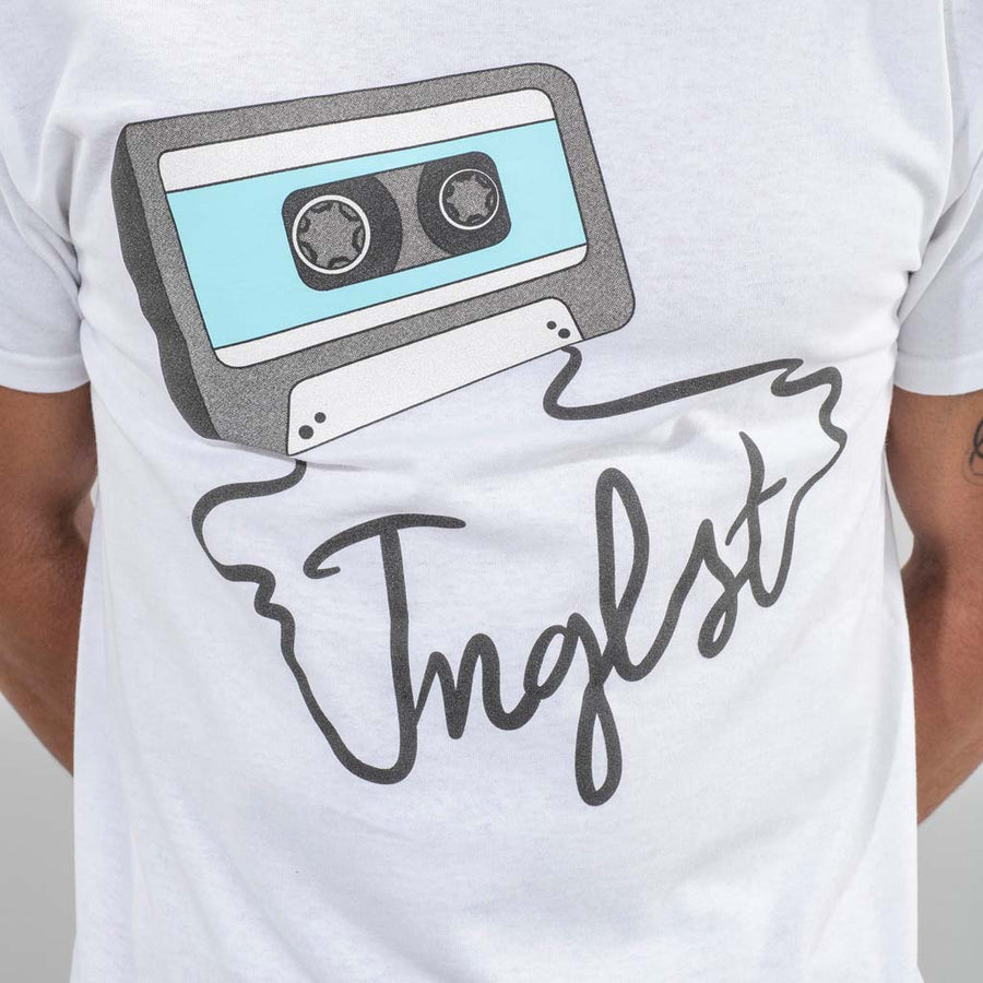 White Jnglst Mixtape T-Shirt