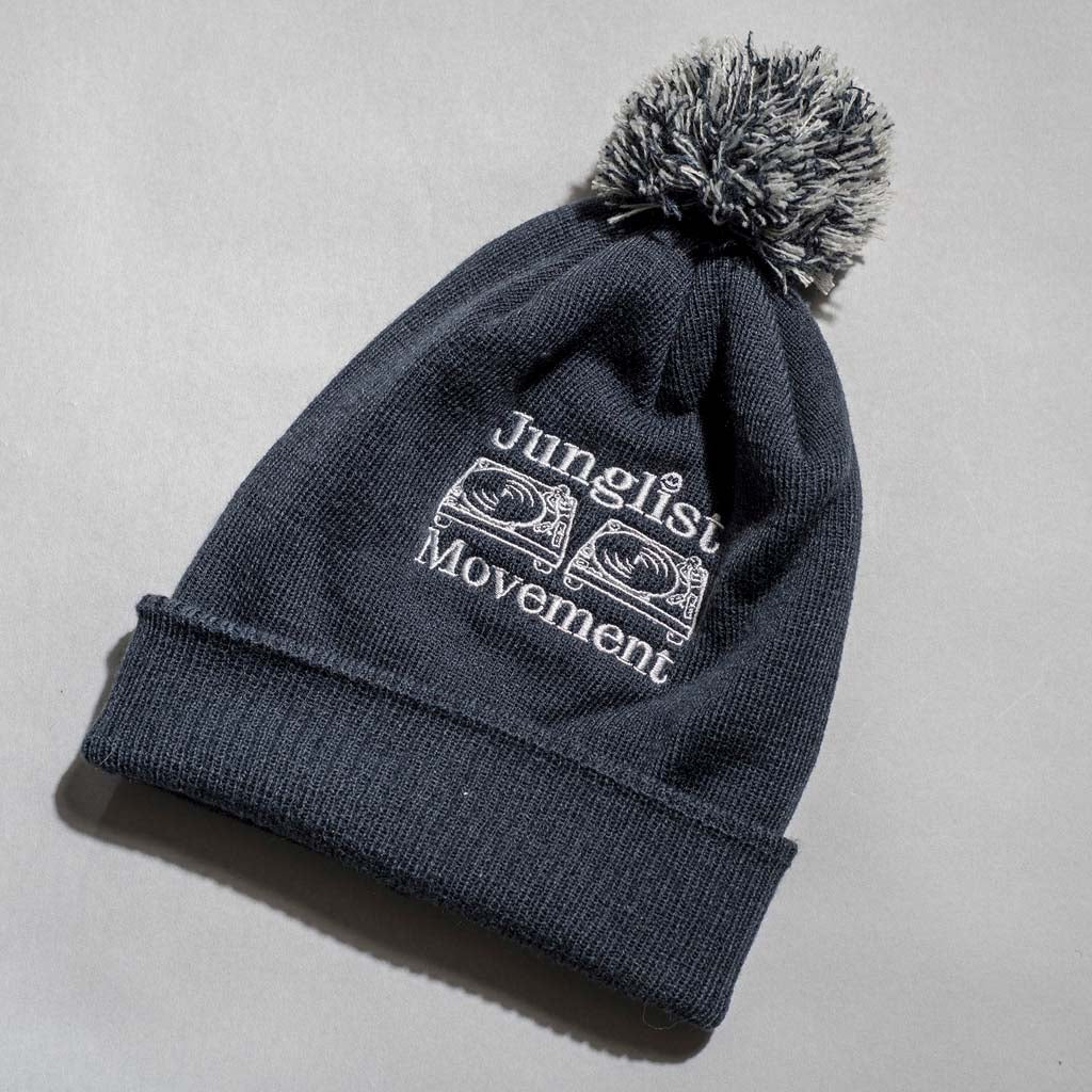 Junglist Movement Beanie close up