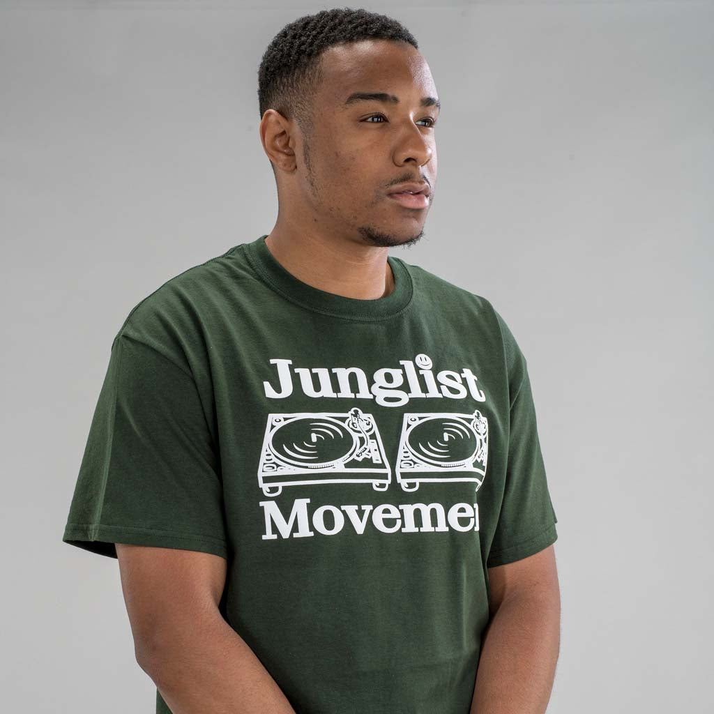 Junglist Movement T-Shirt from the front