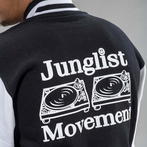 Junglist Movement Jacket back print