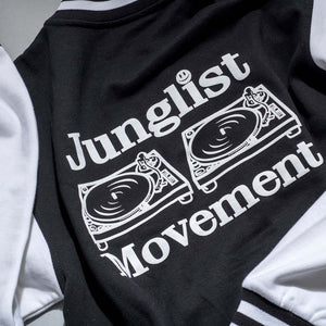 Aerosoul Junglist Movement Back Print Varcity Jacket