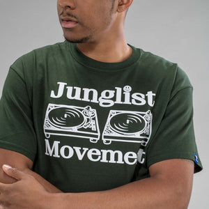 Dark Green Junglist Movement T-Shirt for Junglists