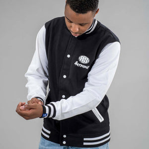 Junglist Movement Varsity Jacket from Aerosoul Clothing