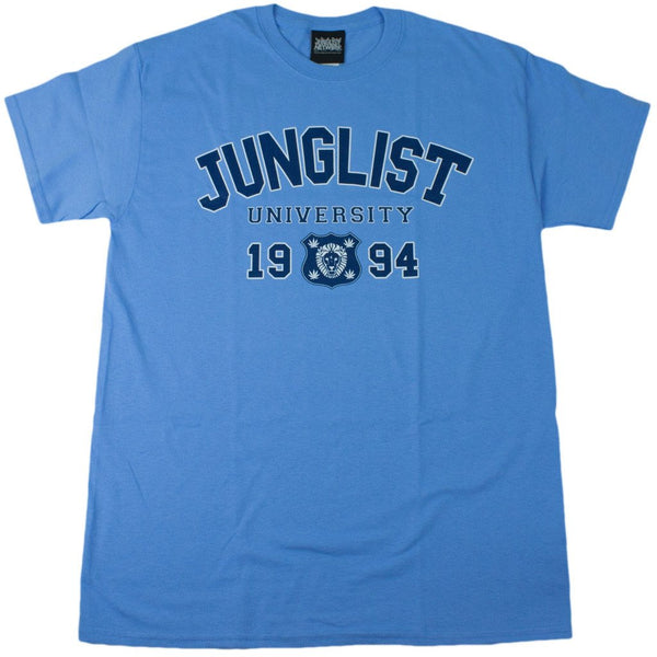 Blue Junglist University T-Shirt