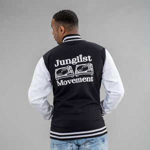 Junglist Movement Black and White Jacket