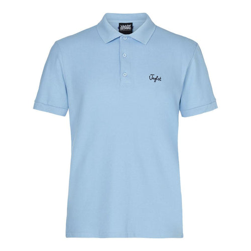Light blue junglist polo