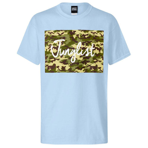Light Blue Junglist Block Tee