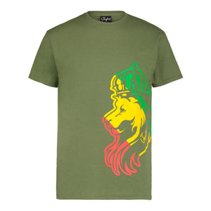 Military Green Lion Jnglst