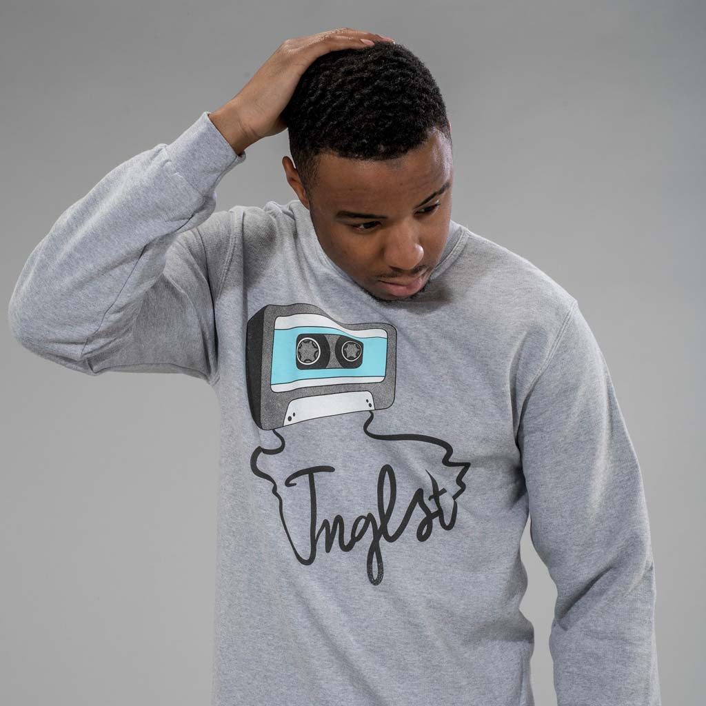 Model in Mixtape Junglist Sweatshirt