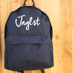 Navy Backpack by Junglist Clothing