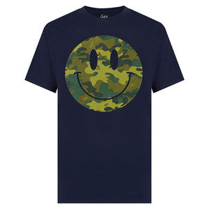 Navy Smiley Face camo