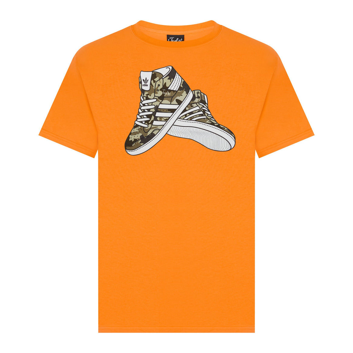 Orange Jnglst Tee Trainers
