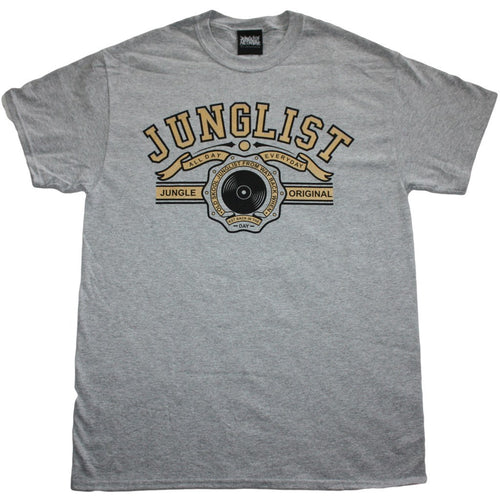 Original Junglist Grey T-Shirt