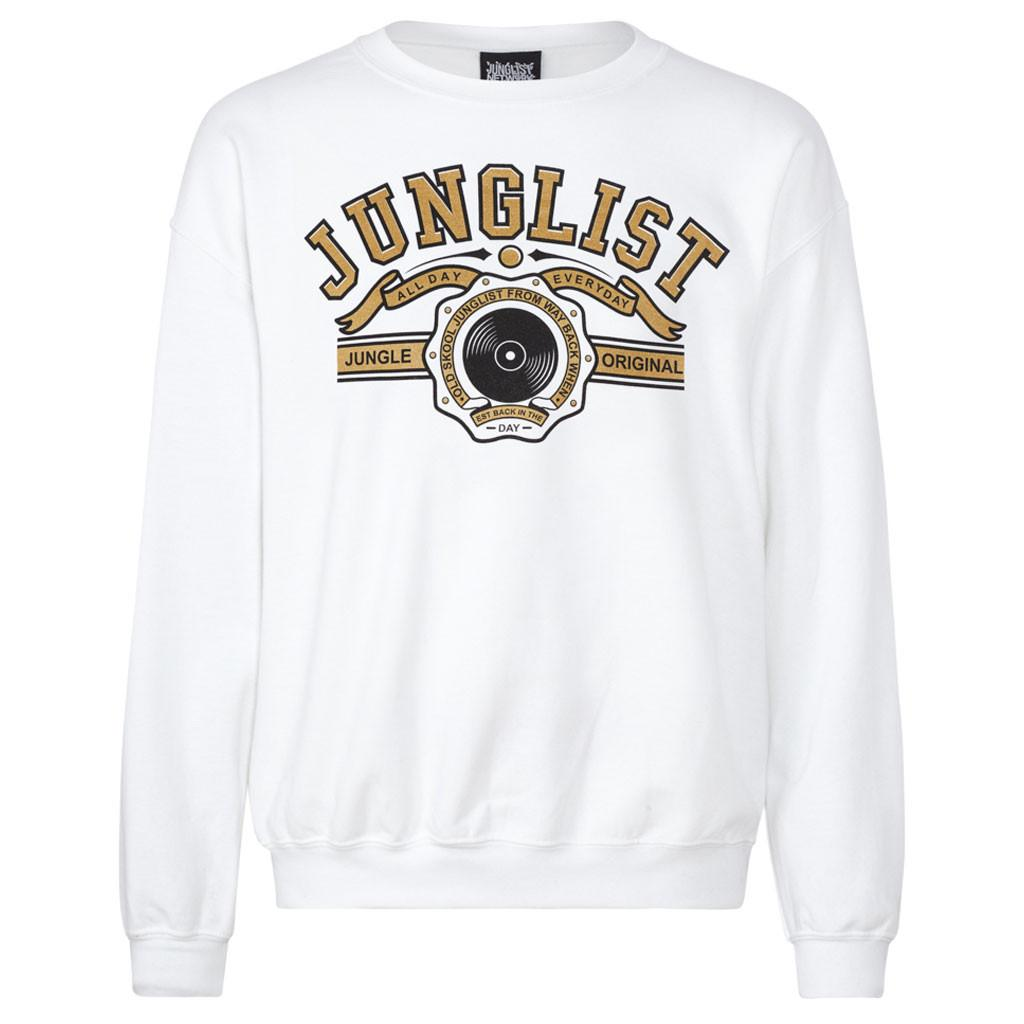 Original Junglist white sweat