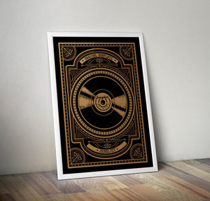 Original Dubplate Fine Art Print