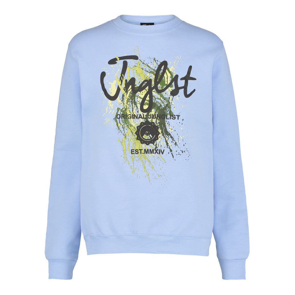 Paint Spaltter Blue Sweat