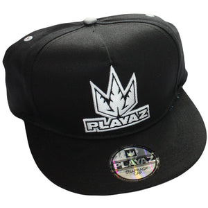 Playaz snapback Black with DnB logo