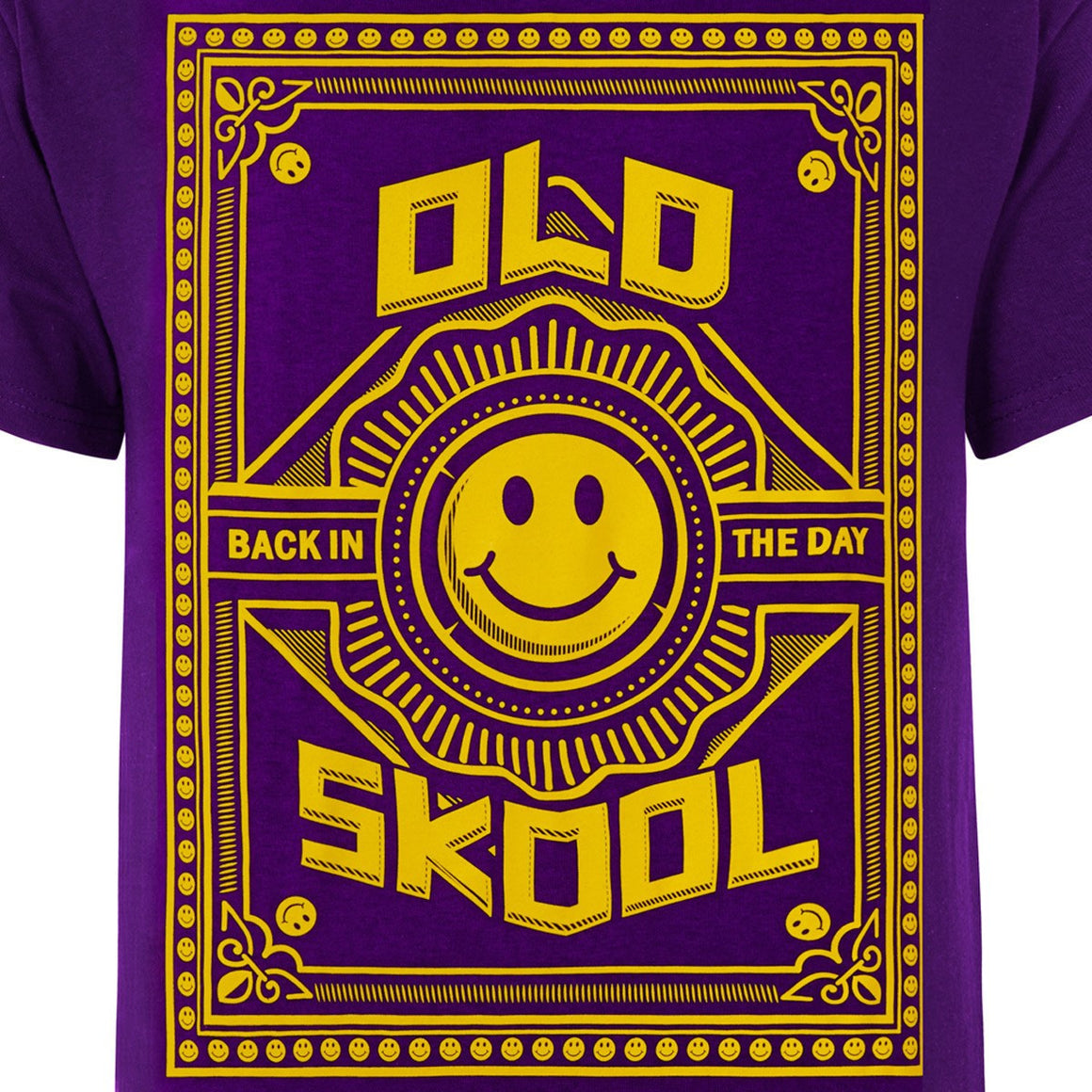 Old skool Purple Tee
